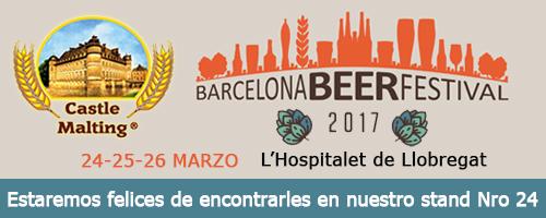 Barcelona Beer Festival, España / 24 - 26 Marzo 2017