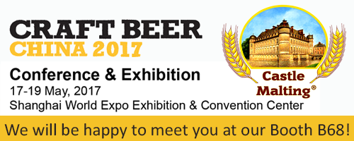 Craft Beer China, Shanghai / 17 - 19 May, 2017