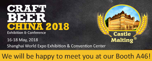 Craft Beer China, Shanghai / 16 - 18 May, 2018