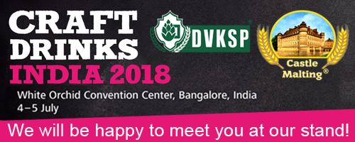 Craft Drinks India 2018 - 4-5 July 2018, Bangalore - India