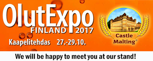 OlutExpo Finland 2017  -  27 - 29 October 2017