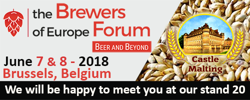 the Brewers of Europe Forum, Brussels - Belgium / June 7 - 8, 2018