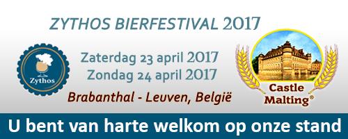 Bierfestival Zythos, Leuven - Belgium, 23 - 24  April 2017