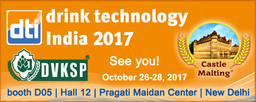 Drinktec India New Delhi 2017  -  26 - 28 October 2017
