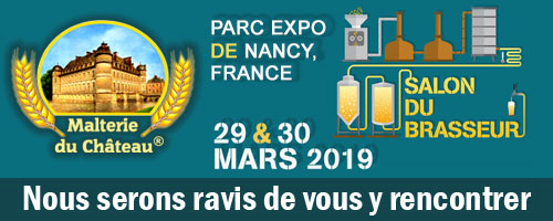 Salon du Brasseur 2019 (Nancy, France), March 29 - 31