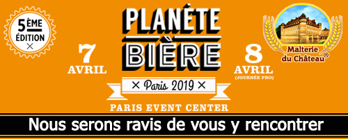 Planete Biere 2019 (Paris, France), April 7 - 8