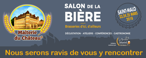 Saint-Malo Craft Beer Expo, France / 23-24-25 mars, 2018