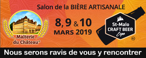 Saint-Malo Craft Beer Expo 2019 (St-Malo, France), March 8 - 10