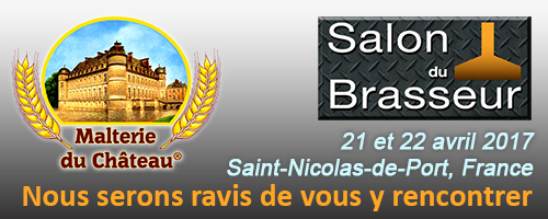 Salon du Brasseur, Saint-Nicolas-de-Port, France 21 et 22 Avril 2017