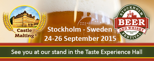 Beer and Whisky Festival, Stockholm - Sweden, 24 - 26 September 2015
