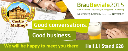 Brau Beviale 2015, Nuremberg Germany, 10 - 12 November