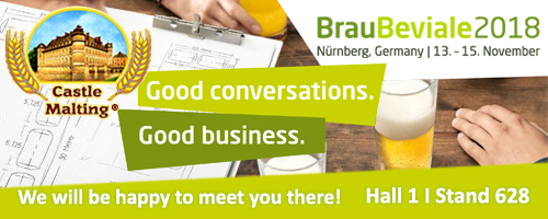 Brau Beviale 2018, Nuremberg Germany, 13 - 15 November