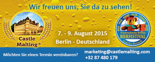 19. Internationales Berliner Bierfestival , Deutschland  7. - 9. August 2015