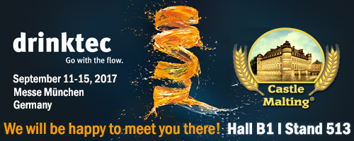 Drinktec, Messe München, Germany / 11. - 15. September 2017