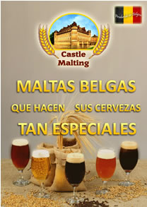 El catálogo de Castle Malting en español (9.93 mb, 40 páginas)