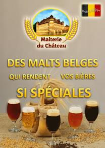 La brochure de la Malterie du Chateau en français (10,6 mb, 40 pages)