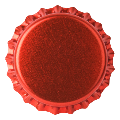 Crown Caps 26mm TFS-PVC Free, Red Neu col. 2151 (10000/box)