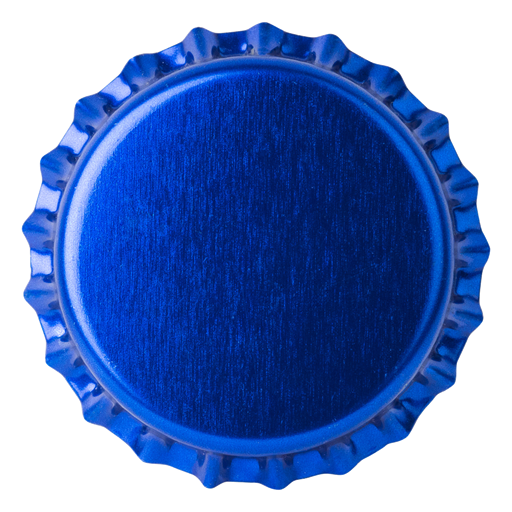 Crown Caps 26mm TFS-PVC Free, Reflex Blue col. 2203 (10000/box)