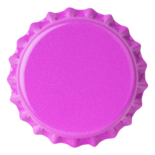Crown Caps 26mm TFS-PVC Free,  Purple Opaque col. 2274 (10000/box)