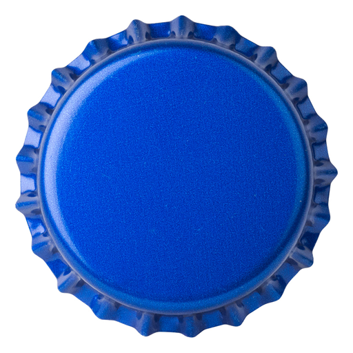 Crown Caps 26 mm TFS-PVC Free, Reflex Blue col. 2538 (10000/box)