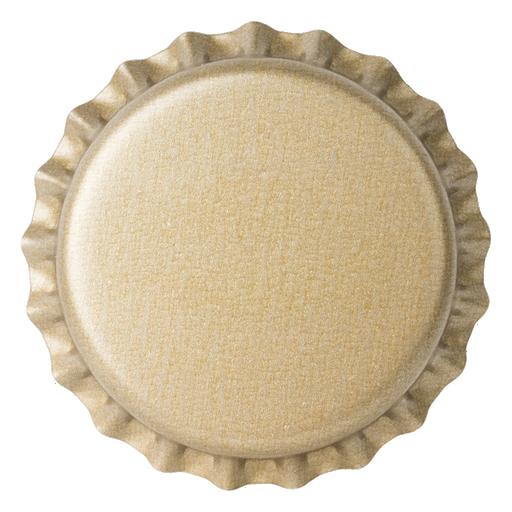 Crown Caps 26mm TFS-PVC Free, Champagne Opaque col. 2713 (10000/box)