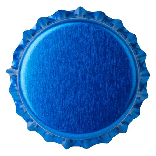 Crown Caps 26mm TFS-PVC Free,  Blue Neu col. 2832 (10000/box)