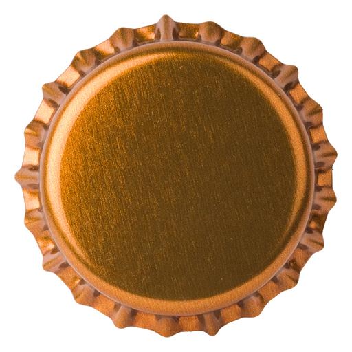 Crown Caps 26mm TFS-PVC Free, Brown Transparent col. 2902 (10000/box)