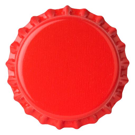 Crown Caps 26 mm TFS-PVC Free, Red col. 2941 (10000/box)