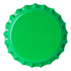 Crown Caps 26mm TFS-PVC Free, Green Opaque col. 2683 (10000/box)