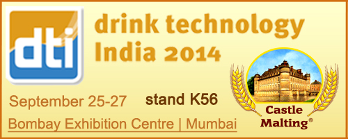 Castle&nbsp;Malting<span style='font-size:12px'>&#174;</span> at Drink Technology India 2014