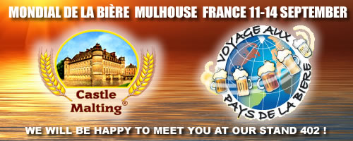 Castle&nbsp;Malting<span style='font-size:12px'>&#174;</span> at Mondial de la Biere 2014