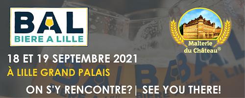B A L - Bière à Lille 2021 (À Lille grand palais), Septembre 18-19