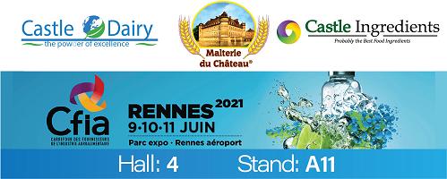 CFIA Rennes 2021 (Parc Expo Rennes Aéroport), 9 - 11 juin