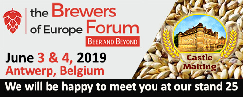 The Brewers of Europe Forum 2019 (Antwerp, Belgium), June 3-4, 2019