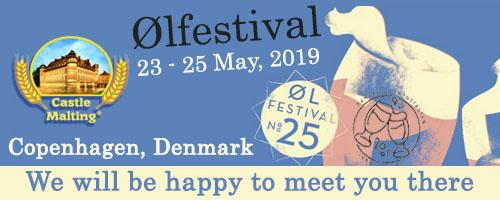 Copenhagen Beer Festival - Ølfestival (Copenhagen, Denmark), 23-25 May 2019