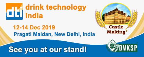drink technology India 2019, New Delhi, India, 12-14 December
