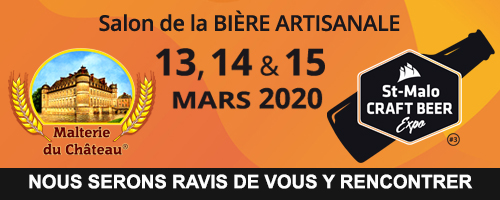 Saint-Malo Craft Beer Expo 2020 (St-Malo, France), March 13-15