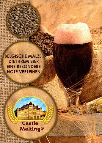 Castle-Malting-Broschüre auf Deutsch (44 Seiten)