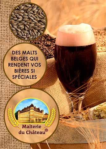 La brochure de la Malterie du Chateau en français (48 pages)