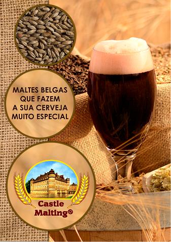 O catálogo da Castle Malting em português (40 páginas)