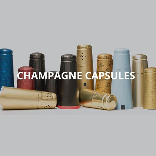 Кришки Champagne 34x90, Чорний (2540 шт/Коробка)