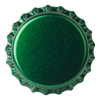 Crown Caps 26mm TFS-PVC Free, Dark Green Transparent col. 2251 (10000/box)