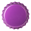 Crown Caps 26mm TFS-PVC Free, Purple  col. 2277 (10000/caixa)