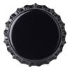 Crown Caps 26 mm TFS-PVC Free, Black col. 2439 Schwarz (10000/Karton)