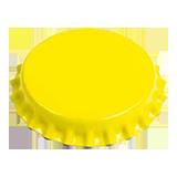 CC29mm TFS-PVC Free, Желтые (6500/коробка)